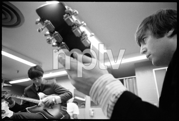 Paul McCartney and John Lennon of the Beatles1964 © 1978 Gunther - Image 7685_0257
