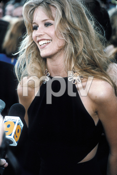 Claudia Schiffer arriving at the 65th Annual Academy Awards1993 © 1993 Jonathan Nourok - Image 7721_0001