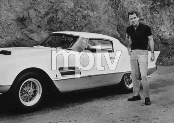 Jackie Cooper with his 1956 Ferrari Superfast1956 © 1978 Bernie Abramson - Image 78_517