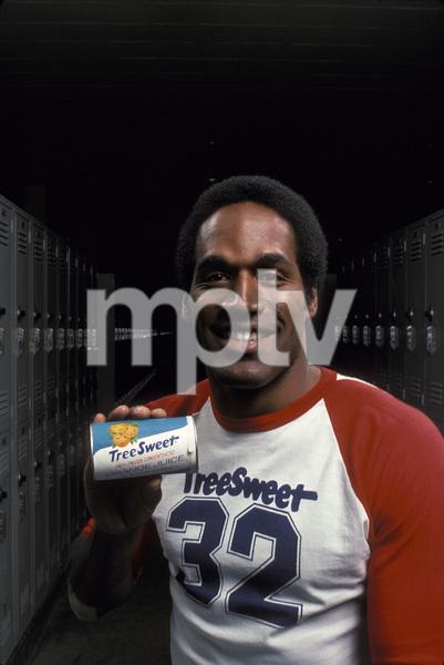 O.J. Simpson orange juice ad for TreeSweet1978 © 1978 Sid Avery - Image 7885_0009