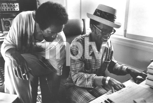 Quincy Jonesand Leon Warec.1970 - Image 7920_0022