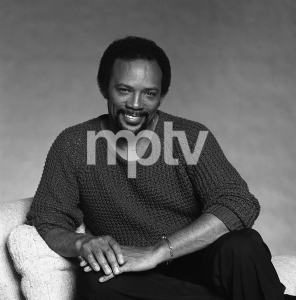 "Quincy Jones studio session for the album ""The Dude""1981© 1981 Bobby Holland - Image 7920_0026"