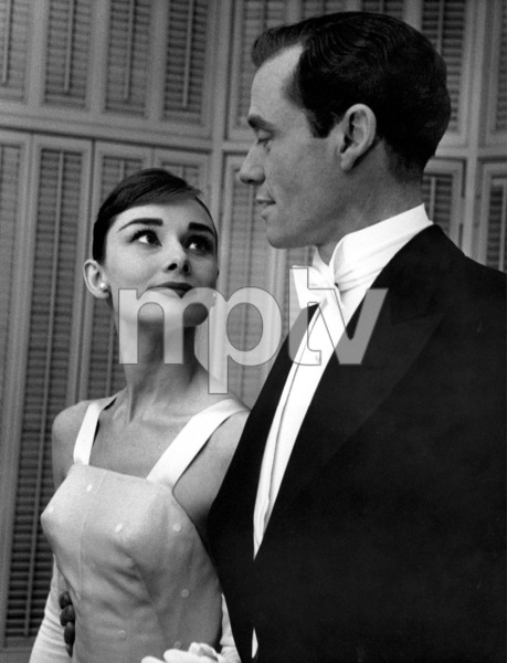 """28th Annual Academy Awards""Audrey Hepburn, Mel Ferrer1956 © 1978 Bill Avery - Image 7979_0013"