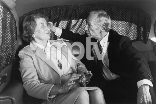 Fran Ryan, Ray WalstonFilm SetPrivate School (1983)0086143Universal Pictures - Image 8046_0004