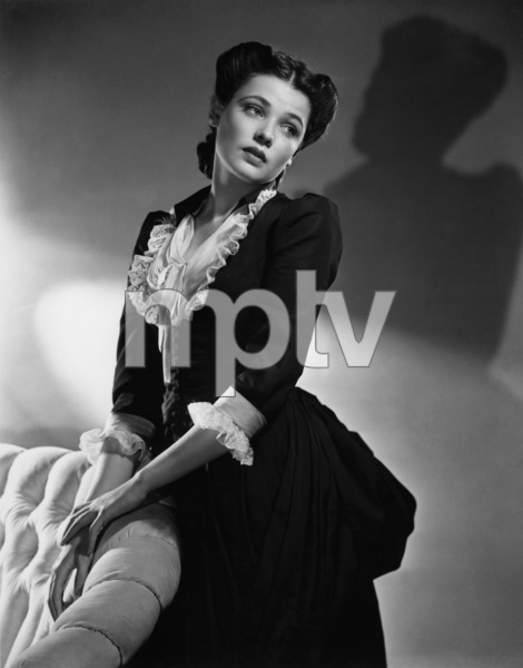 """The Return of Frank James""Gene Tierney1940 20th Century Fox - Image 8080_0003"