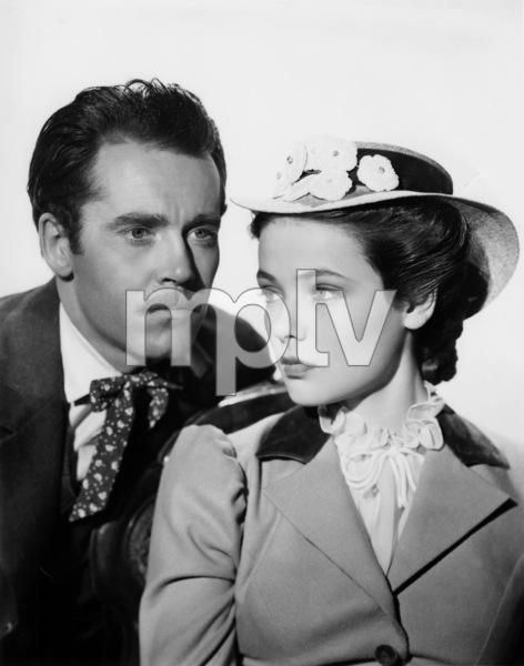 """The Return of Frank James""Gene Tierney, Henry Fonda1940 20th Century Fox - Image 8080_0005"