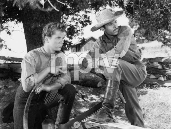 """The Return of Frank James""Jackie Cooper, Henry Fonda1940 20th Century Fox - Image 8080_0008"