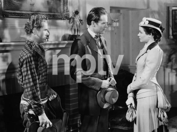 """The Return of Frank James""Gene Tierney, Henry Fonda, Jackie Cooper1940 20th Century Fox - Image 8080_0009"