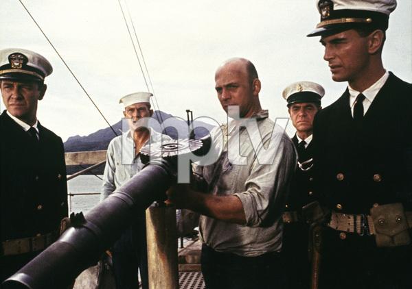 """The Sand Pebbles""Richard Crenna, Steve McQueen, Gavin MacLeod1966 20th Century Fox © 1978 Ted Allan - Image 8127_0007"