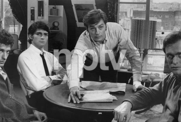 """""""The Sicilian Clan"""" (Clan des Siciliens, Le)Alain Delon, Yves Lefebvre, Philippe Baronnet, Marc Porel1969 20th Century Fox - Image 8188_0004"""