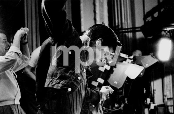 "Elvis Presley dancing on the Paramount set of ""Loving You,"" 1956. © 1978 Bill AveryMPTV - Image 818_463"