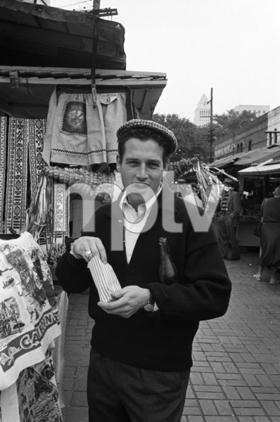 """""""Somebody Up There Likes Me""""Paul Newman1956© 1978 Sanford Roth / A.M.P.A.S. - Image 8216_0036"""