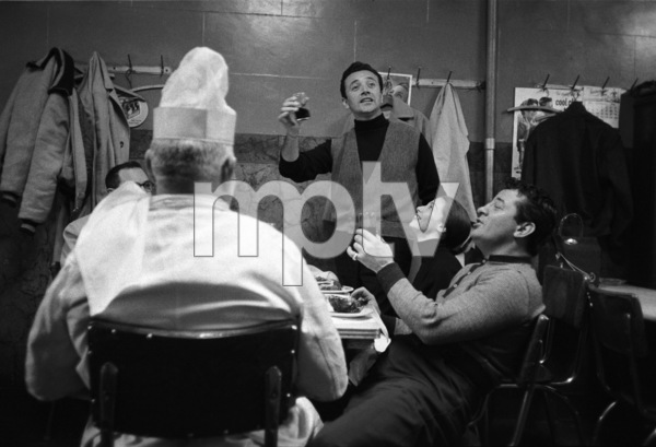 """""""Somebody Up There Likes Me""""Vic Damone, Pier Angeli, Rocky Graziano1956© 1978 Sanford Roth / A.M.P.A.S. - Image 8216_0048"""