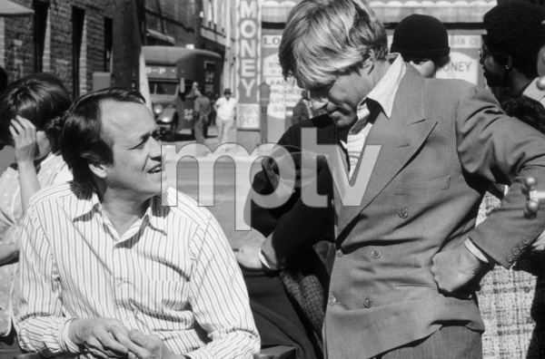 """""""The Sting""""Director George Roy Hill and Robert Redford1973 Universal**I.V. - Image 8253_0006"""