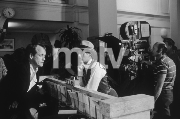 """""""The Sting""""Director George Roy Hill and Paul Newman1973 Universal**I.V. - Image 8253_0013"""
