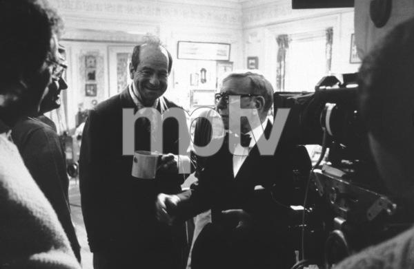 """Sunshine Boys, The""Walter Matthau and George Burns1975 MGM © 1978 Mel Traxel - Image 8278_0004"