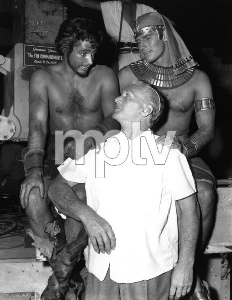 """Ten Commandments""John Derek, Charlton Heston1956 Paramount - Image 8340_0017"