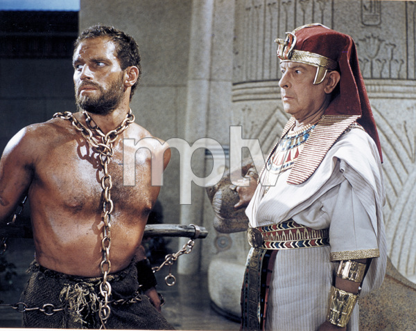 """Ten Commandments""Charlton Heston, Cedric Hardwicke1956 Paramount - Image 8340_0020"