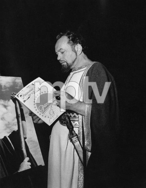 """Ten Commandments""Edward G. Robinson1956 Paramount - Image 8340_0079"