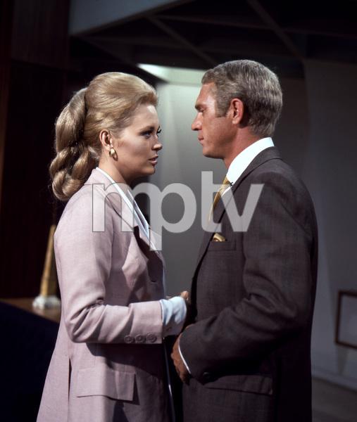 Faye Dunaway, Steve McQueen, THE THOMAS CROWN AFFAIR, UA, 1968, I.V. - Image 8384_0234