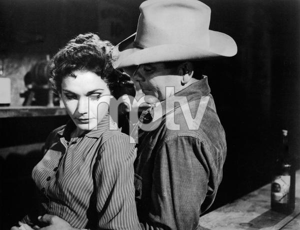 """3:10 to Yuma""Felicia Farr, Glenn Ford1957 Columbia Pictures - Image 8396_0001"