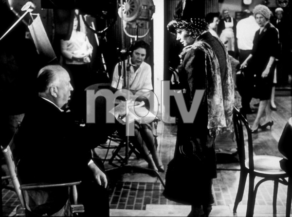 """Torn Curtain,""Director Alfred Hitchcock on set.1966 Universal.  - Image 8418_0020"