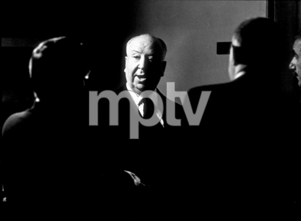 """Torn Curtain,""Director Alfred Hitchcock on set.1966 Universal.  - Image 8418_0027"
