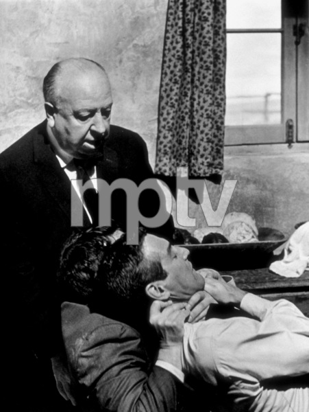 """""""Torn Curtain,""""Alfred Hitchcock directing Paul Newman.1966 Universal - Image 8418_0031"""