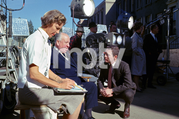 """Torn Curtain""Julie Andrews, director Alfred Hitchcock, Paul Newman1966 Universal Pictures** I.V. - Image 8418_0060"