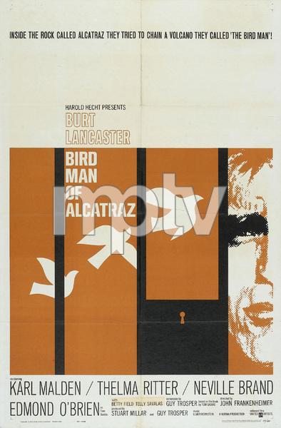 """Birdman of Alcatraz"" (Poster)1962 United Artists** I.V. - Image 8669_0006"