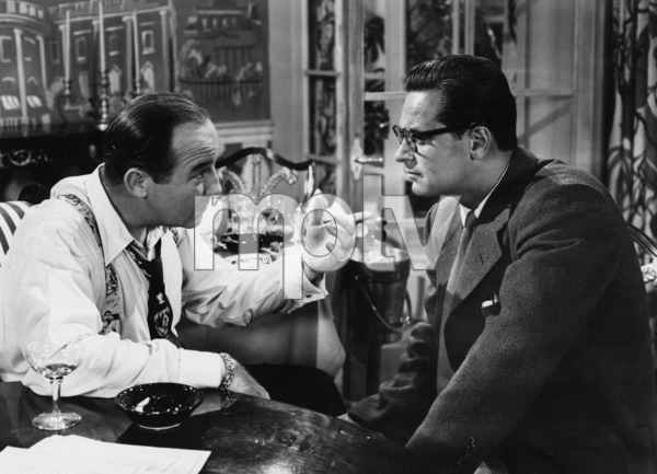 """Born Yesterday""Broderick Crawford, William Holden1950 Columbia Pictures - Image 8697_0001"