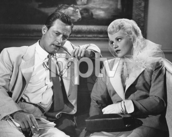 """Born Yesterday""William Holden, Judy Holliday1950 Columbia**I.V. - Image 8697_0008"
