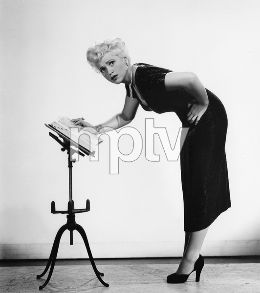 """BORN YESTERDAY""  Judy Holliday, Columbia, 1950, I.V. - Image 8697_0013"