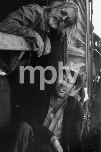 """Bound for Glory""Director Hal Ashby, David Carradine1976 United ArtistsPhoto by Wynn Hammer - Image 8699_0008"
