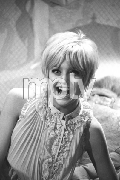 """""""Cactus Flower"""" Goldie Hawn on the set1969 Columbia © 1978 Bob Willoughby - Image 8719_0013"""