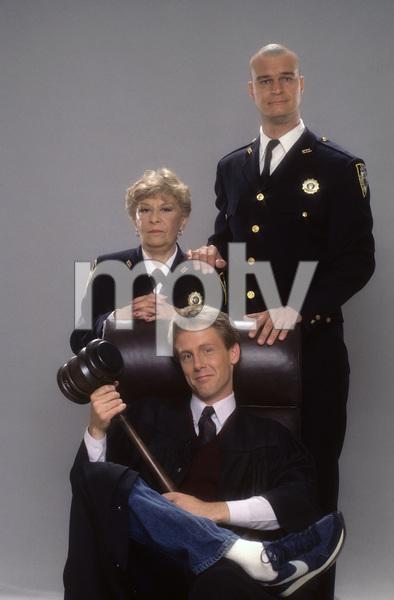 """Night Court""Selma Diamond, Richard Moll, Harry Anderson1984 © 1984 Mario Casilli - Image 8734_0006"