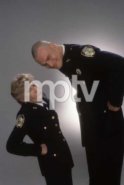"""Night Court""Selma Diamond, Richard Moll1984 © 1984 Mario Casilli - Image 8734_0009"
