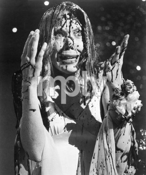 """""""CARRIE"""" Sissy Spacek, UA, 1977, I.V. - Image 8767_0078"""