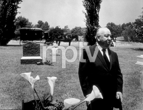 """""""Family Plot,""""Director Alfred Hitchcock on the set.1976 Universal Pictures © 1978 Larry Barbier - Image 8897_0007"""