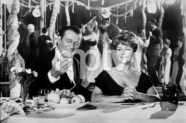 """Circus World,"" Paramount 1964.John Wayne and Rita Hayworth. - Image 8947_0002"