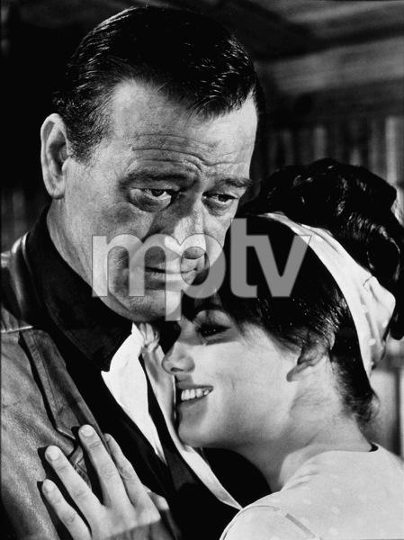 """""""Circus World,"""" Paramount 1964.John Wayne and Claudia Cardinale. - Image 8947_0009"""
