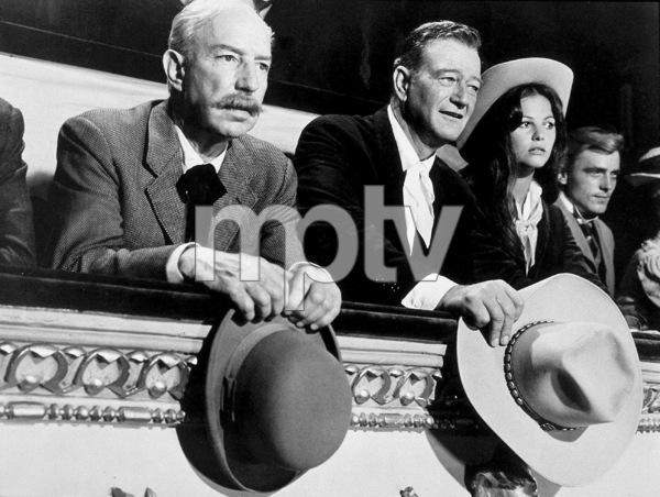 """""""Circus World,"""" Paramount 1964.Lloyd Nolan, John Wayne, and Claudia Cardinale. - Image 8947_0010"""