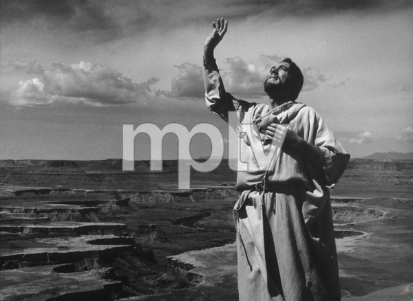 """""""The Greatest Story Ever Told""""Max Von Sydow as Jesus1965 United ArtistPhoto by Floyd McCarty - Image 8951_0015"""