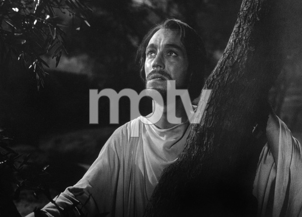"""""""The Greatest Story Ever Told""""Max Von Sydow as Jesus1965 United ArtistPhoto by Floyd McCarty - Image 8951_0018"""