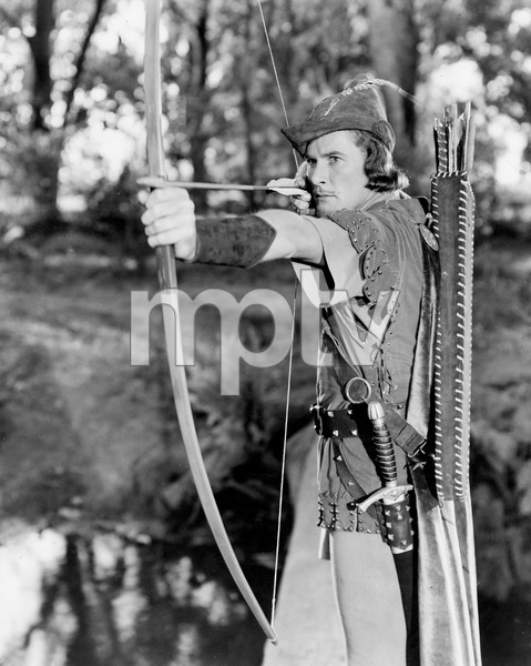 """The Adventures of Robin Hood""Errol Flynn  1938 Warner Bros.**I.V. - Image 8992_0007"