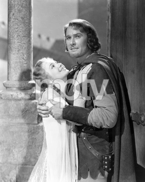 """""""The Adventures of Robin Hood""""Errol Flynn & Olivia De Havilland1938 Warner Bros.**I.V. - Image 8992_0017"""