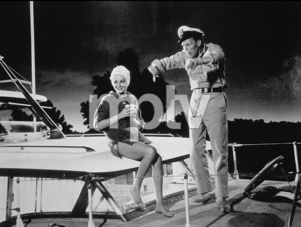 """Assault On A Queen""Frank Sinatra, Virna Lisi1966 Paramount - Image 9005_0009"