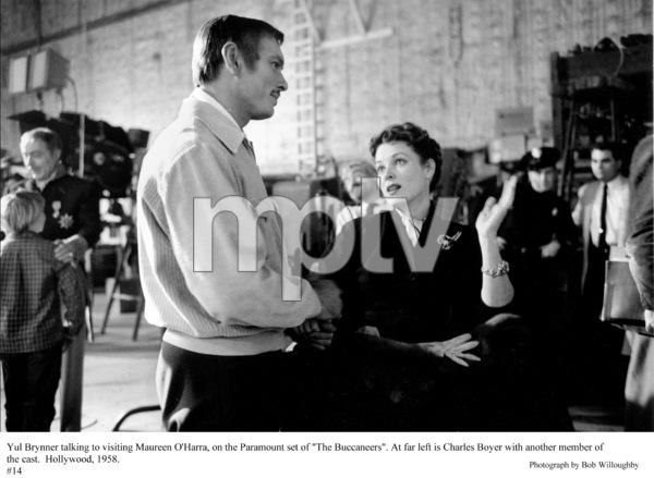 """The Buccaneer"" Yul Brynner and Maureen O"