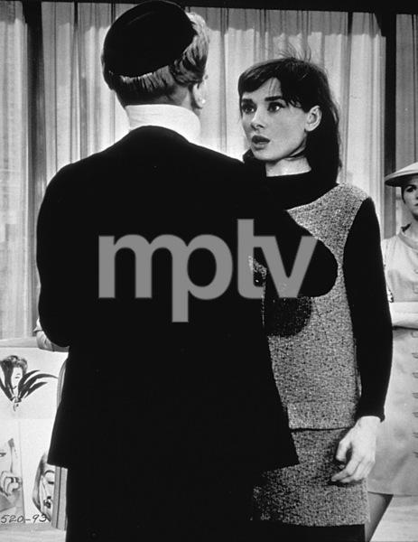 """Funny Face"" Audrey Hepburn and Kay Thompson1956 / Paramount - Image 9111_0033"