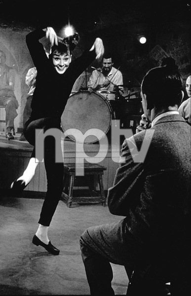 """Funny Face"" Audrey Hepburn 1956 © 1978 Bill Avery - Image 9111_0305"